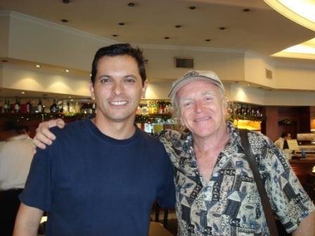 Con Miguel Cantilo (Buenos Aires, Argentina, 12 de diciembre de 2008)