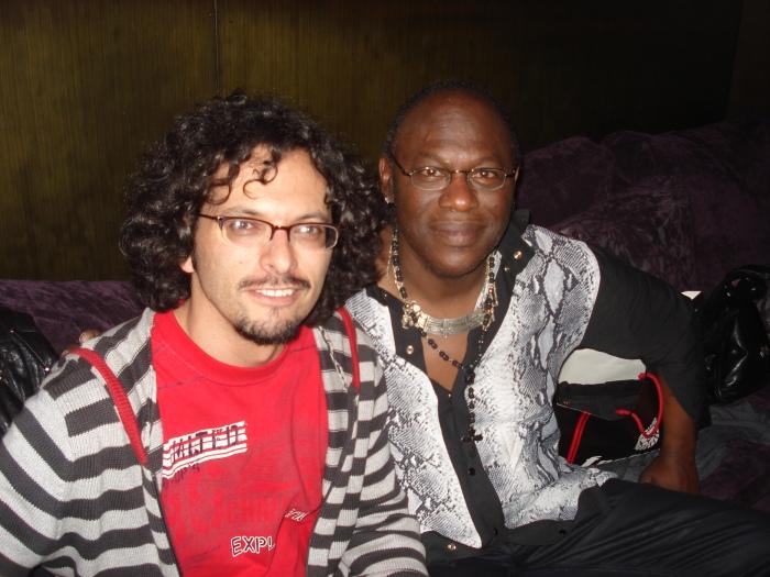 Con Joe Louis Walker (Medellín, 1º de diciembre de 2012)
