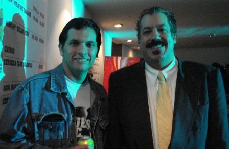 Con Barrelhouse Chuck (Bogotá, 9 de noviembre de 2008)