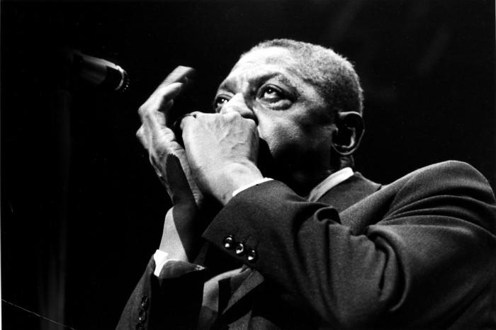 Sonny Boy Williamson - circa early 1960's in the U.K. (Photo by: Val Wilmer/Cache Agency)