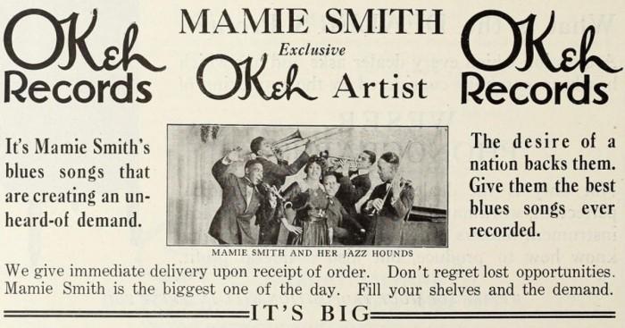 mamie-smith-her-jazz-hounds-crazy-blues-1920